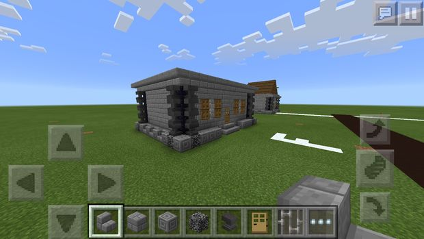 Maison Médiévale De Minecraft Pe étape 5 Plus De Détails