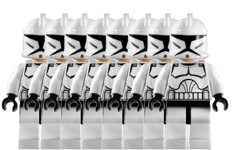 Wars Comment De Armée Star Créer Clones Lego Une cTF1JKl