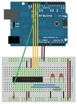ATMEGA328P-PU microcontrôleur avec ou sans graver burn Bootloader Arduino Uno