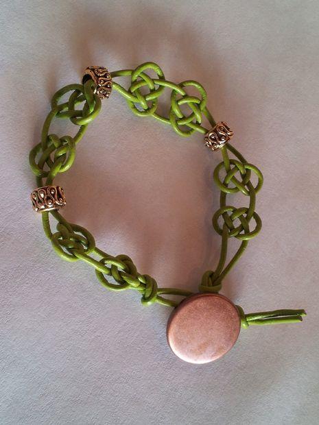 Bracelet Macrame Noeud Celtique Tubefr Com