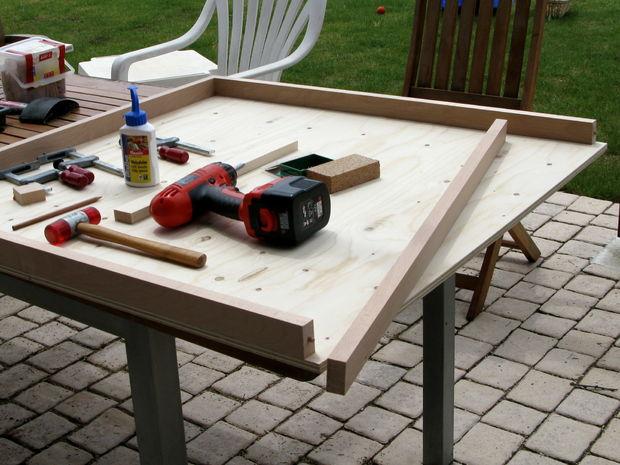Les Enfants Table Pour Playmobil Etape 4 Construire Le Bas Et