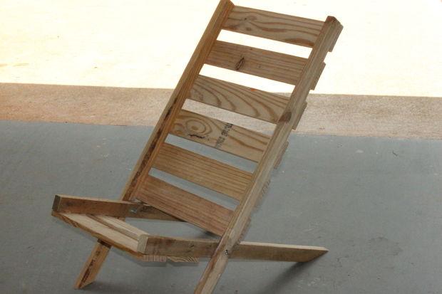 Pliante Jamais Chaise Comme 9Sable Palette Étape Avez Poncé Vous zMpGqSLUV