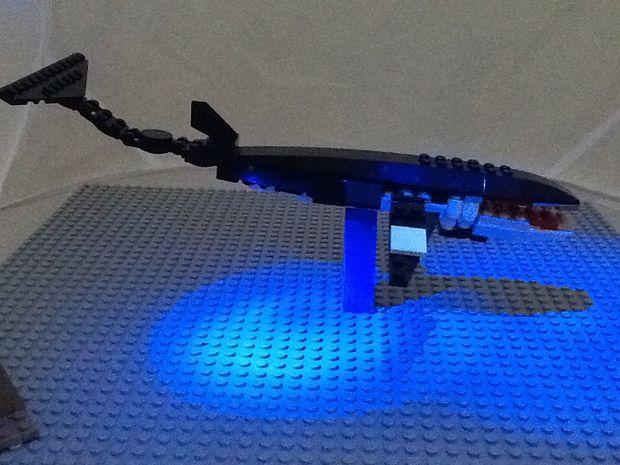 comment faire une baleine de minke lego. Black Bedroom Furniture Sets. Home Design Ideas