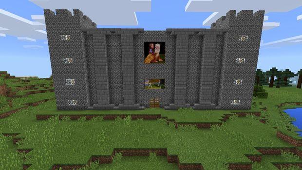 Comment Faire Un Ch 226 Teau De Minecraft Tubefr Com