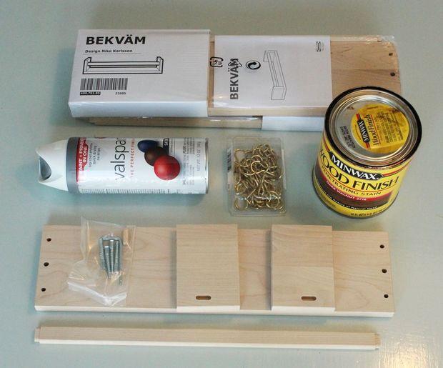 Titulaire De Bijoux Ikea Spice Rack Tubefrcom