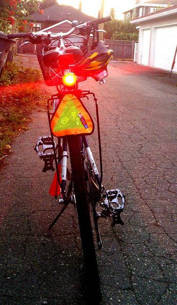 Rack Mount Support pour Hotshot arrière vélo feu arrière