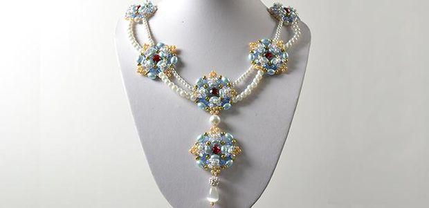 comment faire un collier de perle