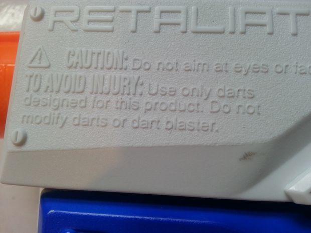 Nerf Retaliator Mod: Suppression du réducteur de débit Air