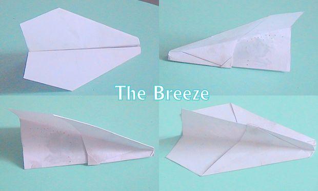 La Brise Un Facile A Faire Avion En Papier Tubefr Com