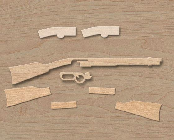 Comment faire un fusil winchester de jouet en bois - Comment fabriquer un coffre a jouet en bois ...
