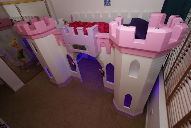 Construire un lit assez princesse ch teau votre enfant - Construire son lit ...