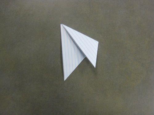 Griffes De Origami étape 6 Prenez Le Coin Supérieur Droit Et