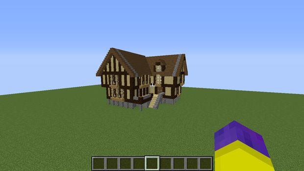 minecraft mideival maison - tubefr