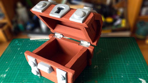 Faire un coffre en bois de clash royale - Comment faire un coffre a jouet en bois ...