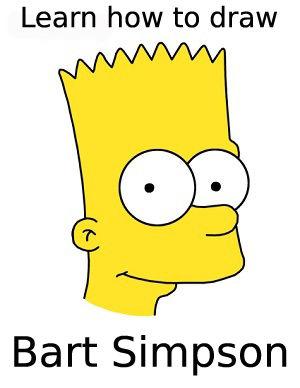 Comment dessiner bart simpson the simpsons - Comment dessiner les simpson ...