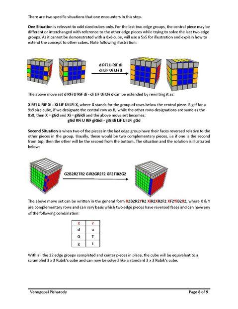 amazing selection free shipping 50% off Résoudre n'importe quel taille Rubik Cube / Étape 8: Edge ...