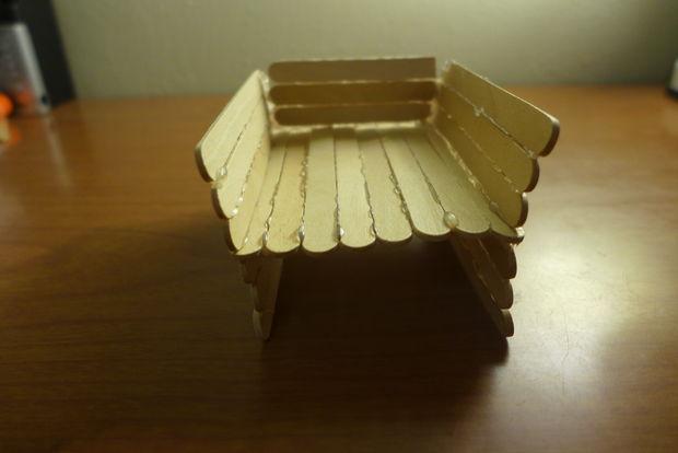 miniature en bois rennes et tra u00eeneau     u00c9tape 6  tra u00eeneau