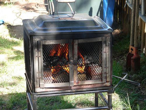 Chauffe piscine de wood burning for Chauffe eau piscine bois
