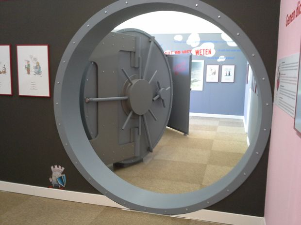 Porte de chambre forte de MDF - tubefr.com