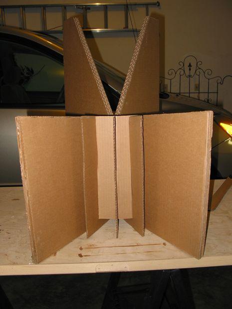 chaise en carton contemporaine. Black Bedroom Furniture Sets. Home Design Ideas
