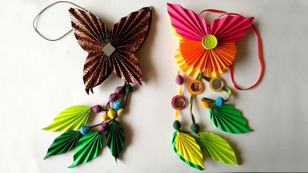Diy Comment Faire Origami Papier Papillon Dangler L Art