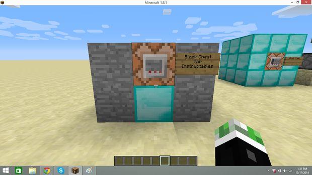 Comment faire un bloc dans un coffre dans vanilla - Comment faire un evier dans minecraft ...