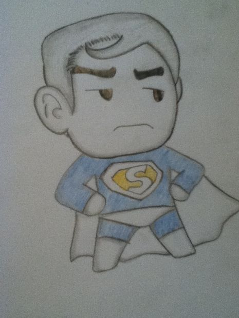Comment Dessiner Superman Etape 4 Couleurs Tubefr Com