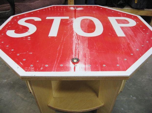 Basse Stop Panneau Étape 6Assemblée Table kZuXiP