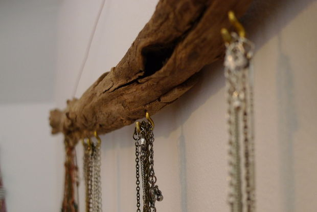 Porte bijoux bois flotté - tubefr.com