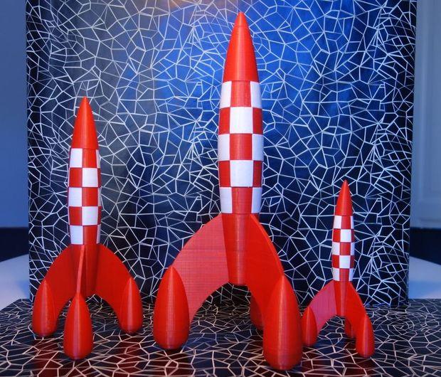 Tintin Fusée De Dessin De Plan Directeur Tubefr Com