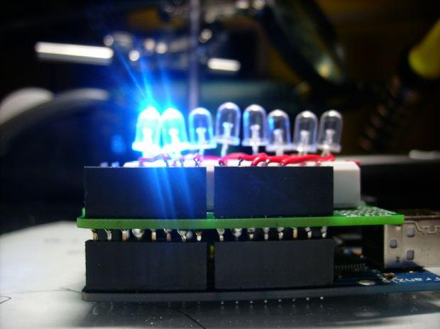 Arduino Chenillard