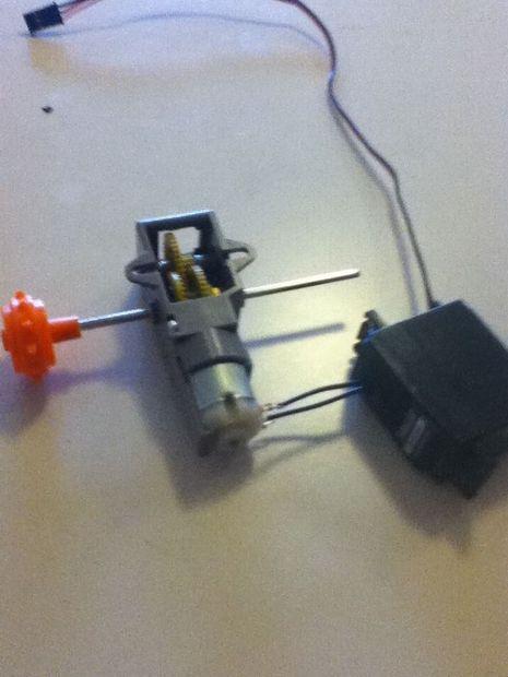 Du jury gréement A à conduire A basse tension moteur Servo (ESC DIY