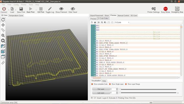 Arduino contrôlée CNC / 3D imprimante hybride / Étape 18