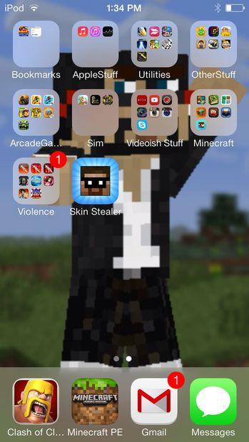Fonds Décran Minecraft Skin étape 1 Télécharger Peau