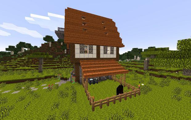 Comment construire une maison m di vale dans minecraft for Construire une maison craft the world