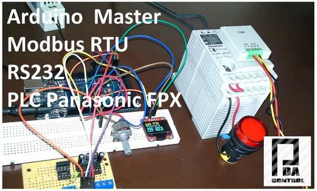 arduino modbus ma tre rtu et panasonic plc fpx c14r. Black Bedroom Furniture Sets. Home Design Ideas
