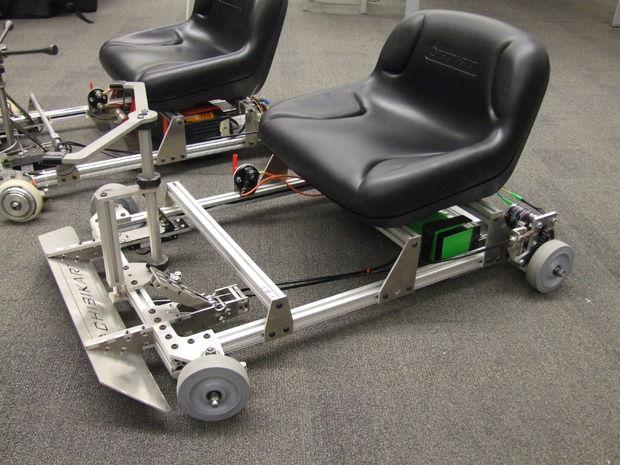 kart electrique fabrication