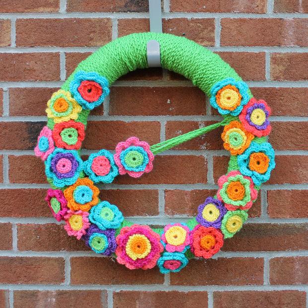 Crochet Fleur Couronne Tubefrcom