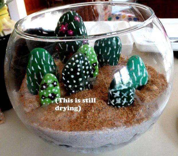 Rock Cactus Terrarium Tubefr Com