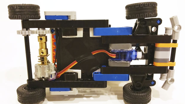 Arduino sation lego technic karting tubefr