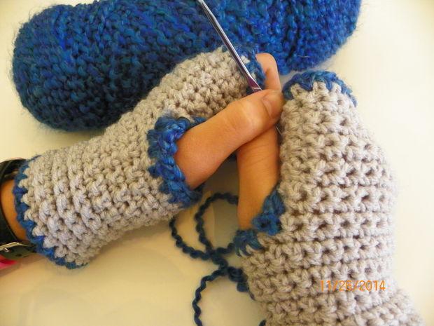 Cozy Facile Au Crochet Mitaines Tubefrcom