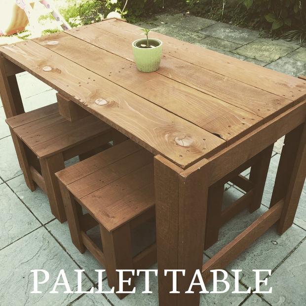 Mobilier jardin palette - tubefr.com