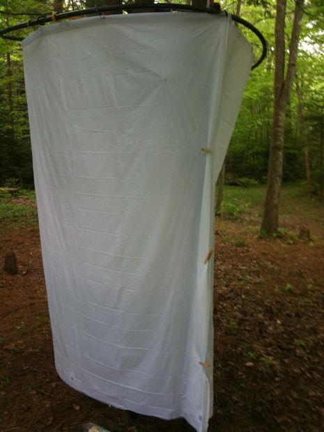 cabine de douche exterieure camping