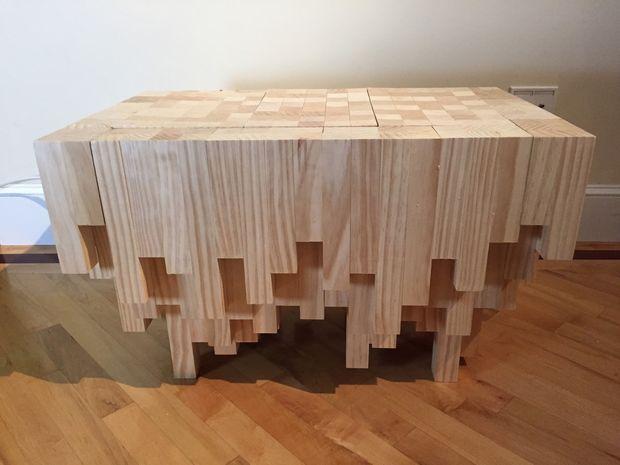 Cascade Caché Avec Compartiment En Table Basse 0wvm8Nn