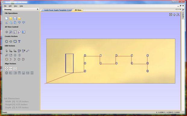 Génération de Gcode pour ShopBot de fichier AutoCAD en