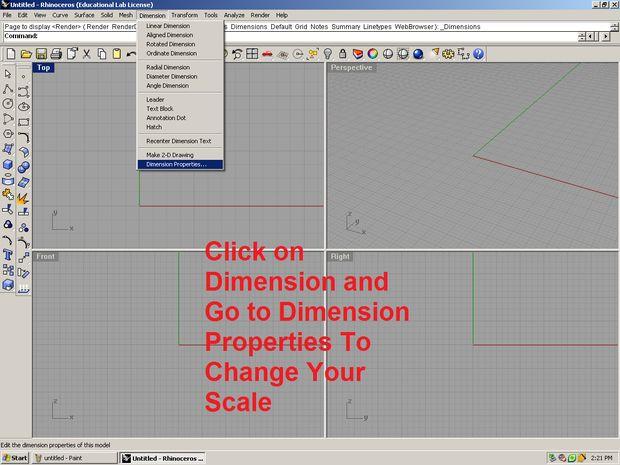 Ouvrir Quelque Version De Rhino Vous Avez Ou Autre Programme Modlisation 3D Suivre Les Photos Comme Indiqu Pour Crer Votre Carte Visite