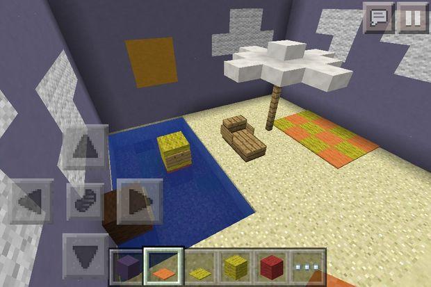 de chaise Minecraft plage 11Vous avez Etape et parasol IYmvybf76g