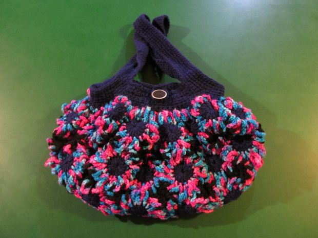 Sac à Main Fleur Crochet Mignon Tubefrcom