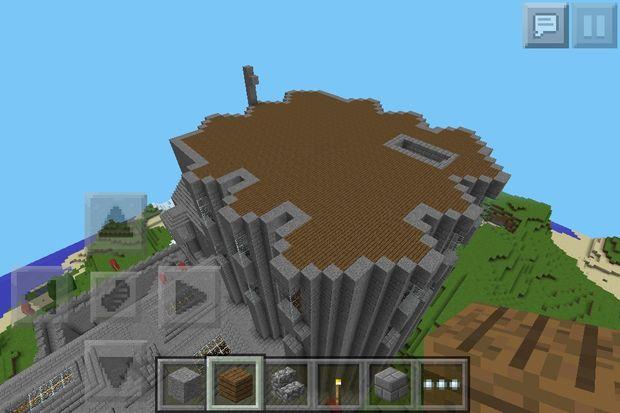 Minecraft Médiévales Forteresse Semi Guide étape 12