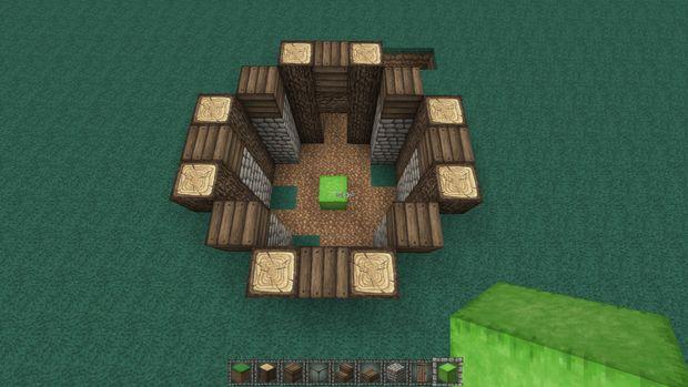 Maison Médiévale Terre Minecraft étape 2 Faites La Base